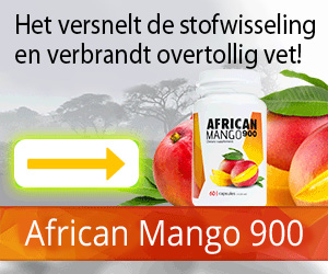 AfricanMango900 - gewichtsverlies