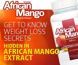 African Mango - gewichtsverlies